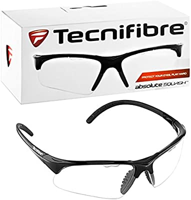 a883e6727f Tecnifibre Squash Racketball Protective Eyewear Glasses Googgles. Back.  Double-tap to zoom