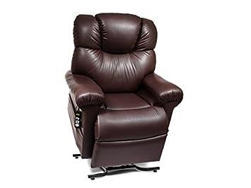 MaxiComfort Series Golden Technologies Power Cloud PR512 MLA Dual Motor Lift Chair Zero Gravity Recliner with Power Articulating Headrest – Sterling Blue Fabric