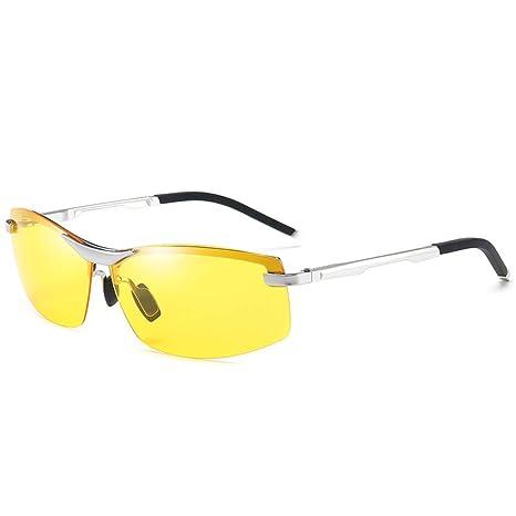 Yangjing-hl Sports Box - Gafas de Sol para Hombre (Cambia de ...