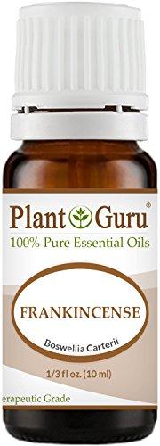 Frankincense Essential Oil (Boswellia Carteri) 10 ml. 100% Pure Undiluted Therapeutic Grade. by Plant Guru