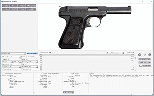 Firearms Guide 7th Edition (DVD-Rom for Windows) - Most ... on