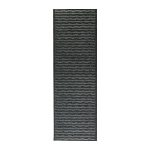 Ikea Indoor Gray Entryway Hallway Runner Mat Rug Anti Slip 26 X 78