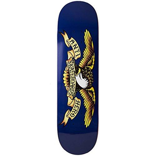 (Anti-Hero Classic Eagle Skateboard Deck - Navy - 8.50