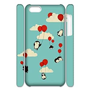 Penguin CUSTOM 3D Hard Case for iPhone 6 plus (5.5) LMc-22996 at LaiMc