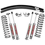 Rough Country - 670N2 - 3-inch Suspension Lift Kit w/ Premium N2.0 Shocks for Jeep: 84-01 Cherokee XJ 4WD