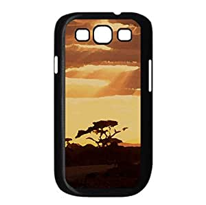 Sunset 2.0 Watercolor style Cover Samsung Galaxy S3 I9300 Case (Sun & Sky Watercolor style Cover Samsung Galaxy S3 I9300 Case)