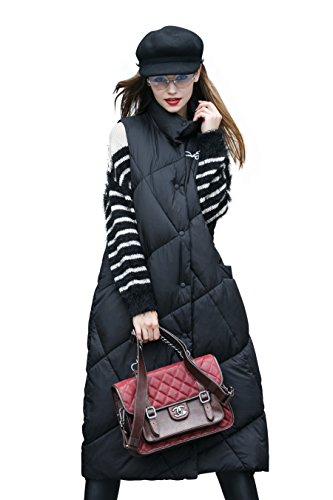 Quilted Puffy Vest - 5