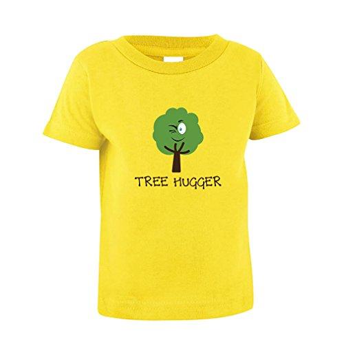 Tree Hugger Style 1 Toddler Baby Kid T-Shirt Tee Yellow 2T