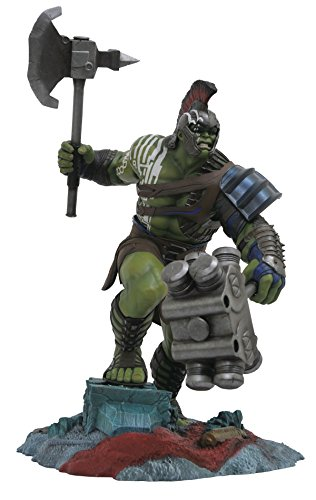 DIAMOND SELECT TOYS Marvel Gallery: Thor Ragnarok Hulk PVC Vinyl Figure 12 Inch Vinyl Bank