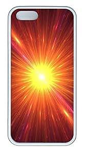 iPhone 5 5S Case Bright light TPU Custom iPhone 5 5S Case Cover White