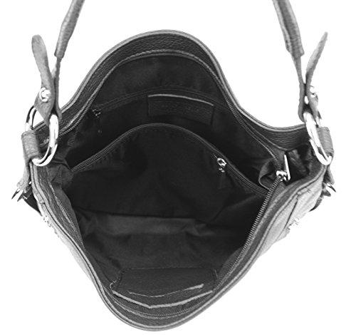Sac Noir OH CUIR Modèle BAG S à femme MY Main TSEwqxpS