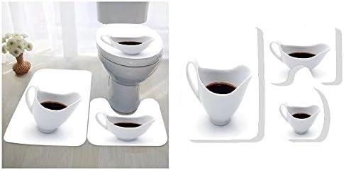 Remarkable Amazon Com Sylvain Parent Three Piece Toilet Seat Pad Ibusinesslaw Wood Chair Design Ideas Ibusinesslaworg