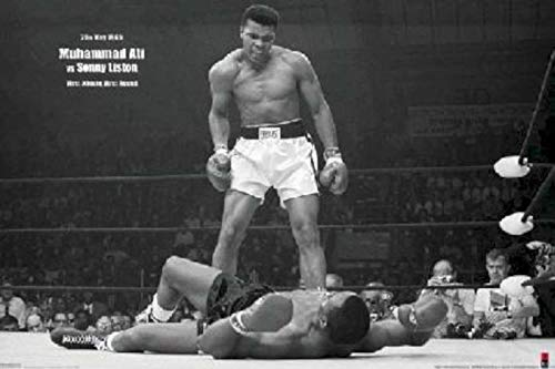 Used, Muhammad Ali Round 1 Knockout Poster (24 x 36 inches) for sale  Delivered anywhere in Canada