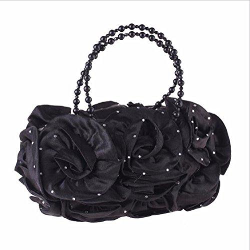 bolso paquete bolso vestido simple bolso japones Color pequeño cena de estilo La champagne Pearl mujeres Black las XJTNLB EBw6WqSXnx