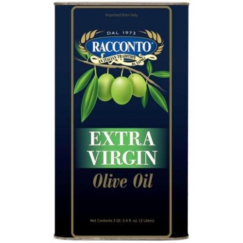 Racconto Extra Virgin Olive Oil, 3 Liter - 4 per case. ()