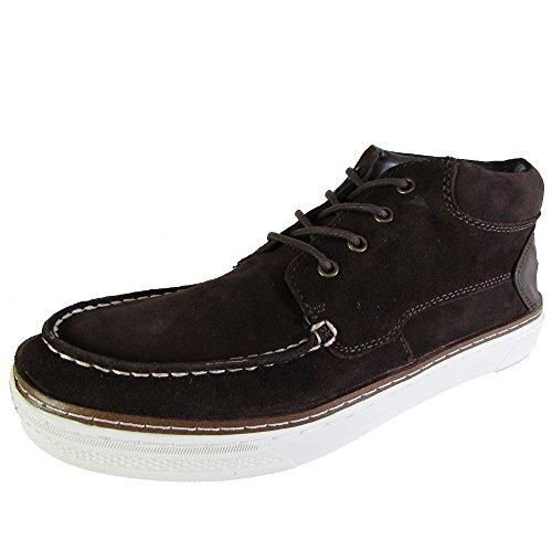 Steve Madden P settore Mens blu pelle scamosciata Sneakers Scarpe stringate