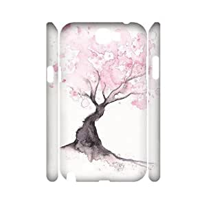 ANCASE Watercolor Customized Hard 3D Case For Samsung Galaxy Note 2 N7100