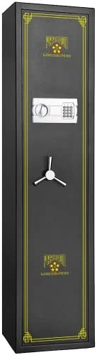 Paragon Lock and Safe Electronic 5 Gun Rifle Safe Gun Cabinet Secure Lock Firearms