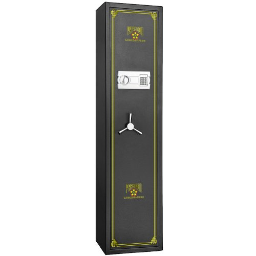 7501 Paragon Lock & Safe Electronic 5 Gun Rifle Safe  4.26cf Gun Cabinet for Firearms