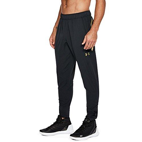 (Under Armour Men's Select Warm Up Pants, Black (001), Medium)