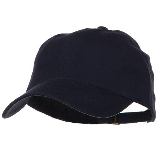 Low Profile Light Weight Brushed Cap - Navy (Low Profile Baseball Caps For Men)