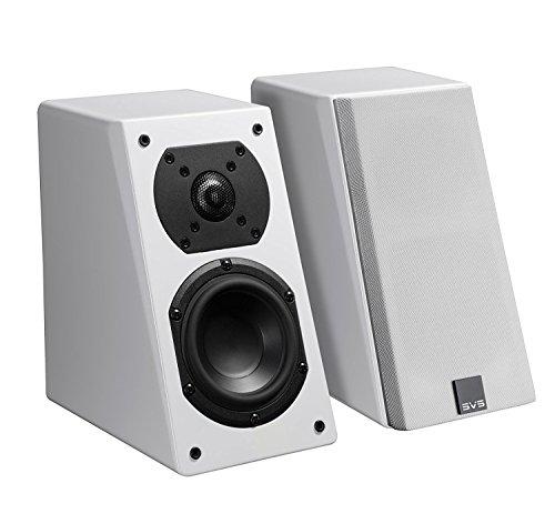 "SVS Prime 4-1/2"" Passive 2-Way Speakers (Pair) Piano gloss white PRIME ELEVATION 2PK, WHITE G"