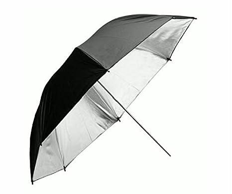 Paraguas grande para hombre y mujer, 135 cm, Anti-viento doble, color