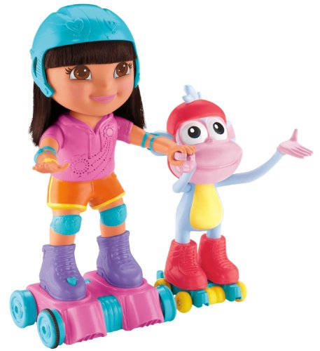 - Fisher-Price Nickelodeon Dora the Explorer, Skate and Spin Dora and Boots