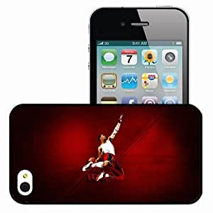 Personalized iPhone 4 4S Cell phone Case/Cover Skin 14721 derrick rose 2 by hockodms d2zb20o Black
