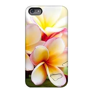 DeanHubley Apple Iphone 6s Protective Hard Phone Covers Customized Attractive Exotic Plumeria Skin [IXU1002nEPi]