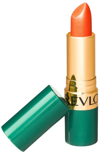 Revlon Moon Drops Lipstick, Frost, 24K Orange 706, 0.15 Ounce