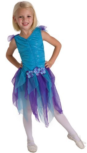 Little Adventures Teal Fairy Girls Costume - X-Large (7-9 Yrs) -