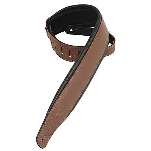 Levy's Leathers PM32-BRN Garment Leather Strap with Foam Pad, Brown