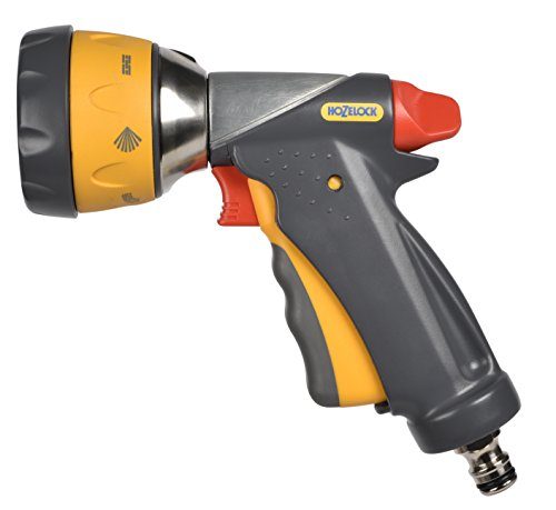 Hozelock Multi Spray Ultramax Gun, Grey/yellow, 16x10x8 cm