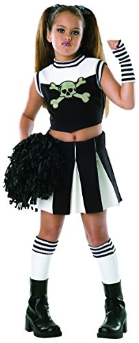 Drama Queens Child's Bad Spirit Costume, Medium (Bad Spirit Cheerleader Costume)