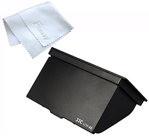 JJC LCH-A6 LCD Pop-Up Screen Hood Cover for Sony E-Mount A6500 A6300 A6000 Mirrorless Camera