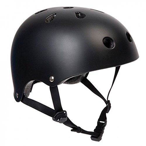 SFR Skateboard / Scooter / Inliner / Rollschuh Schutz Helm - Schwarz - Bmx, Inliner, Longboard Helm - Schutzausrüstung Skateboard Helm, Grösse:L/XL 57-59cm Grösse:L/XL 57-59cm
