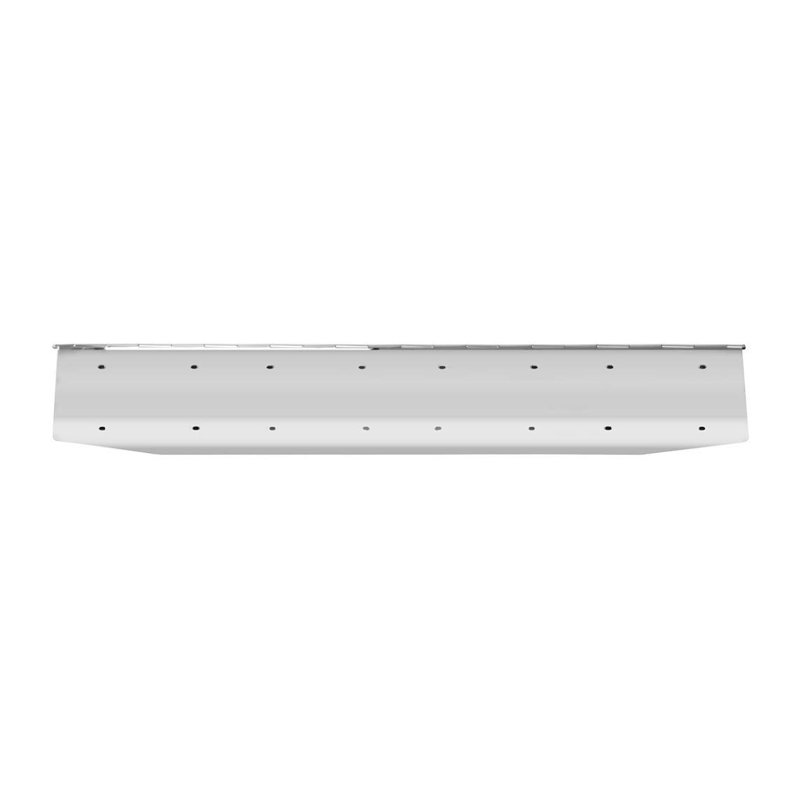 GG Grand General 60580 18 X 8 18 X 8 inches Chrome 1 License Plate Holder Angle Cut