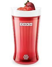 Zoku ZK126-RD Slush and Shake Maker, Red