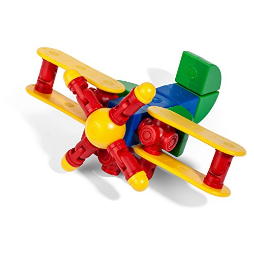 Magfun 50 Pcs 3D Magnet Building Many Shapes Helps Build Intelligence