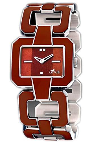 Lotus Lady Womens Analog Quartz Watch with Stainless Steel Bracelet 15464/B