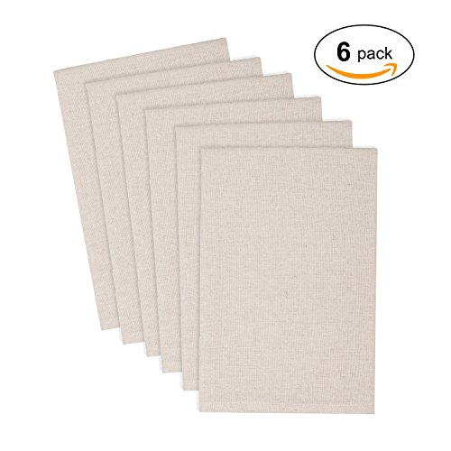 SLPR 100% Linen Napkins  | Crafted from Pure Linen Fabric Ma