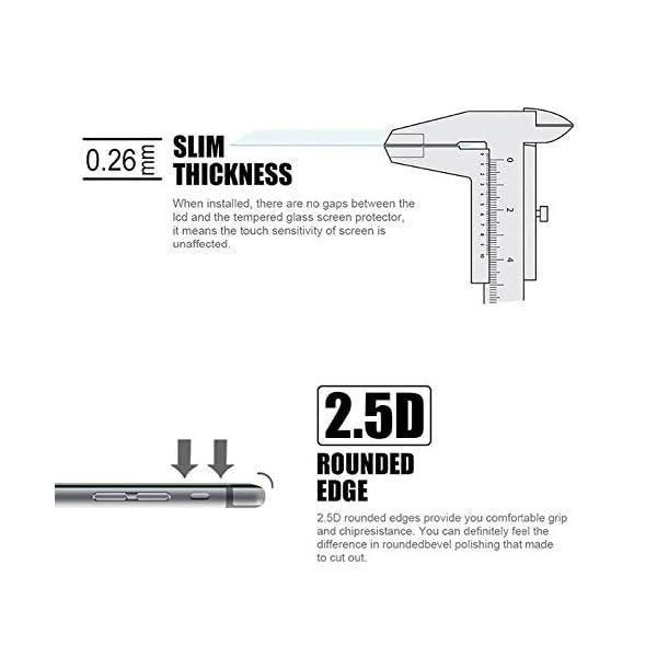 rwwrewre Protector de Pantalla para Tempered Glass For Sony Xperia Z Z1 Z2 Z3 Compact Plus Z5 Premium ZR Screen Protector 2.5 Safety Protective Film On Z 1 2 3 5 4