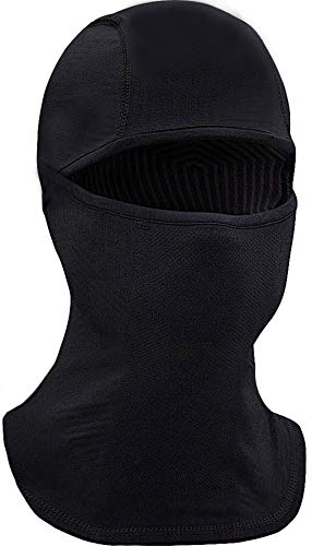 Black Winter Ski - Self Pro Balaclava UV Protection - Windproof Ski Mask Cold Weather Face Mask Thermal Hood