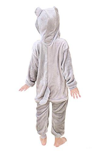 Babyonlinedress Pijama de niño de una pieza con diseño de anime sudadera de disfraz de cartoon holgado y cómodo con capucha Totoro