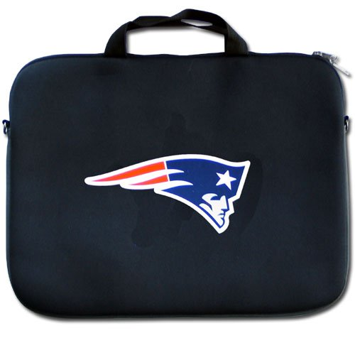 NFL New England Patriots Neoprene Laptop Bag (Patriots Computer New England)