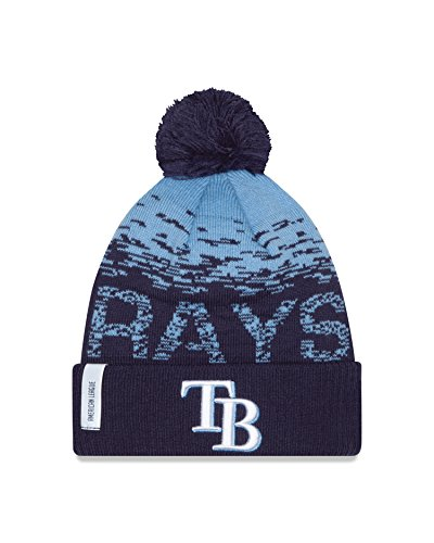 MLB Tampa Bay Rays Headwear, Navy/Sky Blue, One Size