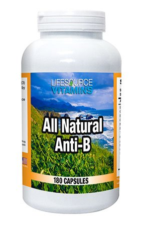 LifeSource Vitamins Anti-B (180)