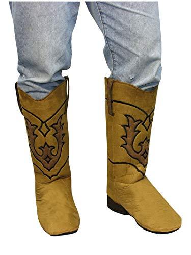 Cowboy Boot Spats (Forum Novelties Cowboy Boot Top Covers Costume)