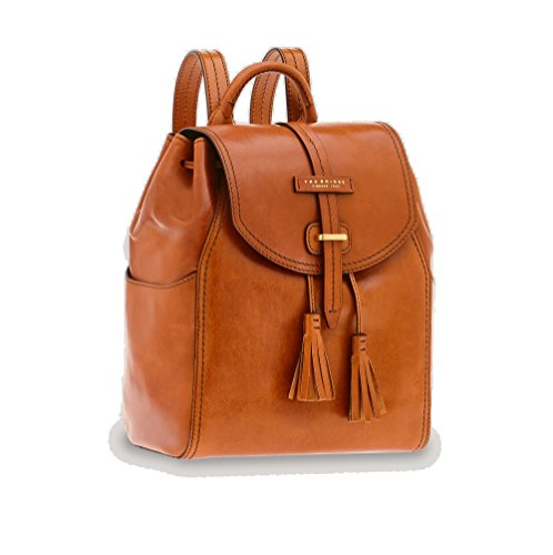 cm à braun Florentin Bridge dos City Sac 34 cuir cognac brown The 8Owaq